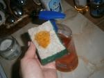 1 нажатие- гора посуды помыта