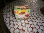 """в пирамидках Lipton зеленый """"Клубничное пирожное"""" Strawberry Cake"""