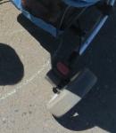 Тормоз на заднем колесе