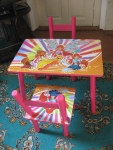 набор стол и стулья