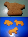 """Детское печенье Агуша """"Я сам!"""" с малиной: животные-печеньки"""