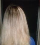 Мои волосы после использования масла в качестве маски