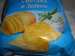 картошка и зелень