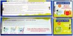Профилактическая зубная паста Longa Vita for kids для детей 2-6 лет со вкусом яблока: коробка со всех сторон.