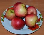 """яблоки для фруктового дня диеты """"6 лепестков"""""""