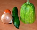 "овощи для овощного дня диеты ""6 лепестков"""