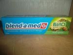 упаковка зубной пасты