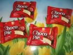 """Печенье прослоённое глазированное Lotte """"Choco Pie"""". Индивидуальные упаковки"""