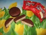 """Печенье прослоённое глазированное Lotte """"Choco Pie"""". Печенье"""