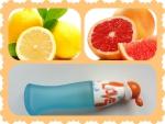 лимончик и грейпфрут в основе