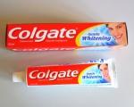 Зубная паста Colgate с фторидом и кальцием Бережное отбеливание
