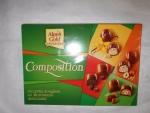 Конфеты шоколадные «Alpen Gold» Composition