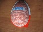 Шоколадное яйцо Kinder JOY, информация на обратной стороне упаковки