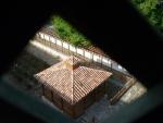 Вид на двор с Соколиной башни