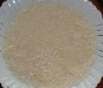 Замоченные рис.