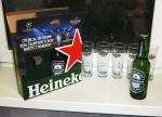 """Пиво и бокалы """"Heiniken"""""""