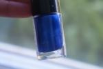 Интенсивный синий цвет с блестками