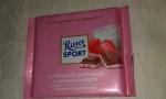 Шоколад молочный «Ritter Sport» с отборной клубникой в нежном йогурте