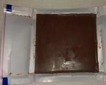 Шоколад молочный «Ritter Sport» с отборной клубникой - с одной стороны
