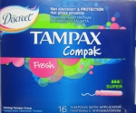 Тампоны Tampax Compak super