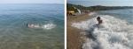 Пляж в Учкуевке