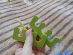 разделители пальцев и лопатка для отодвигания кутикулы
