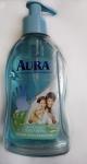 Жидкое мыло Aura с антибактериальным эффектом Ультразащита с алоэ вера, бутылка 300 мл