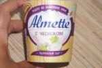 Сыр творожный с чесноком