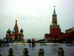 Храм Василия Блаженного и Спасская башня