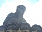 Изображение Будды, добирались на фуникулере