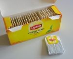 Черный чай Lipton Yellow Label в открытой упаковке