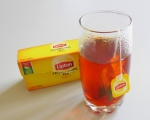 Черный чай Lipton Yellow Label заваренный