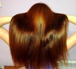 мои волосы на данный момент