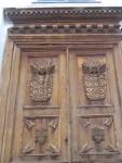 Костел Святого Стефана. Деревянный декор двери