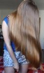 Сухие волосы после маски и мытья
