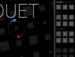 """Игра для iPad """"Duet"""", скриншот - вступительный экран, выбираем уровень"""