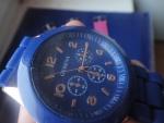 синие часы женева