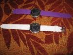 Наручные часы с силиконовым ремешком Geneva, металлический корпус