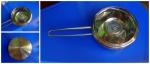 Ковш со стеклянной крышкой Fissman Bambino 0.6 л SS-5270.12: крышка плотно присоединена пленкой