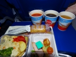 Ужин на рейсе Рим - Москва (курица)