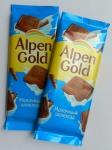 Шоколад молочный Альпен Голд