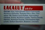 зубная паста Lacalut Aktiv - состав
