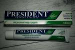 зубная паста PresiDENT Classic - общий вид