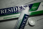зубная паста PresiDENT Classic - тюбик обычный, крышка откручивающаяся
