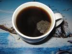 Кофе растворимый Nescafe Gold, кофе в чашке без молока