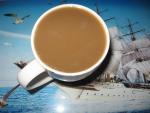 Кофе растворимый Nescafe Gold, вид напитка с молоком