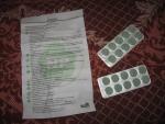 """Таблетки для рассасывания """"Шалфей"""" Natur Produkt, инструкция и таблетки"""