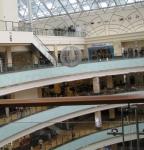 Общий вид центральной части с 5 этажа