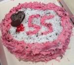 Праздничный торт из мыла