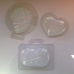 Пластиковые формочки для мыловаерния